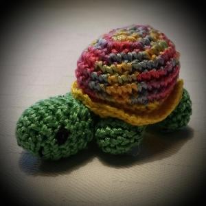 häkeltier-mobile-schildkröte